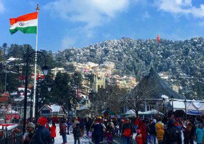 The Mall in Shimla