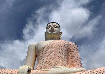 Gigantische Buddha Statue