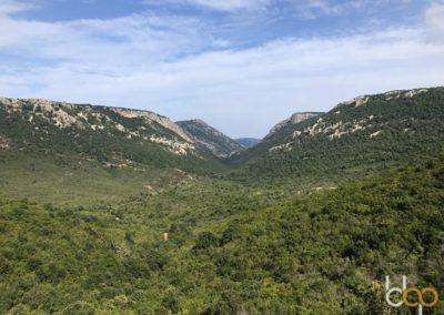 Sardinien Mare e Monti Tour Blick auf das Supramonte Gebirge ©Matthias Lippstreu